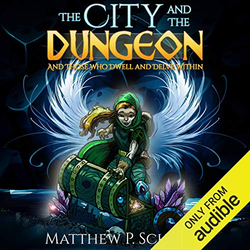 The City and the Dungeon audiobook cover art