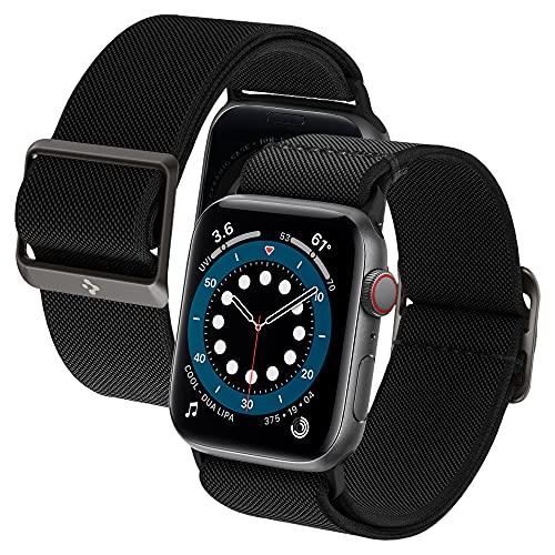 Spigen Lite Fit Compatible con Watch Cinturino per 44mm Serie 6/SE/5/4 e 42mm Serie 3/2/1 - Nero