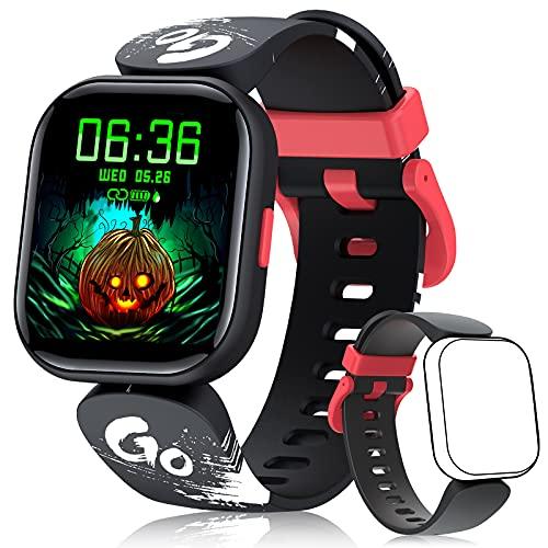 BILIFIT Reloj Inteligente Niño, 1.4' Smartwatch Niños Impermeable IP68, Pulsera Actividad Niño con 19 Modos...