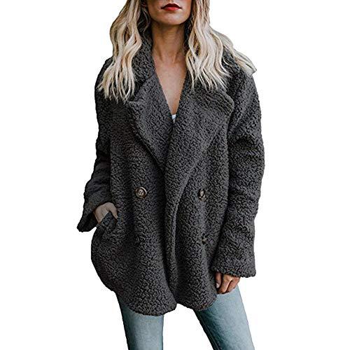 beautyjourney Cappotto Donna Invernale Taglie Forti Elegante Tumblr Lungo Cappotti Eleganti Parka Lunghi Giacca da Donna Giacche Giubbotto Donna Trench Donna Inverno Parka Cappotto