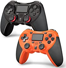 TERIOS Wireless Controllers Compatible with Playstation 4 Game Controllers for PS4 Pro/Ps4 Slim, Built-in Speaker & Stereo Headset Jack Multitouch Pad Rechargeable Lithium Battery