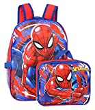 Spiderman Marvel 16' Backpack with Detachable Lunch Box