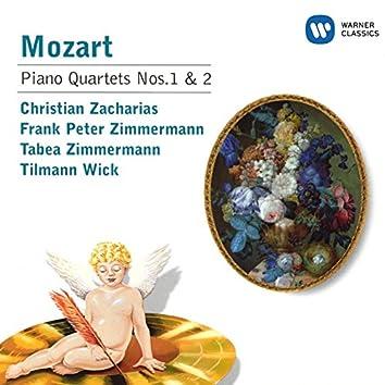 Mozart : Piano Quartets No. 1 K478 and No. 2 K493