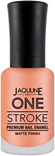 Jaquline USA One Stroke Premium Nail Enamel Matte Finish, Sweetheart 41, 8 ml