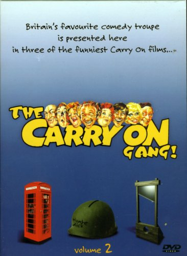 The Carry on Gang (Volume 2) Carry on England / Carry on Dick / Carry Don't Lose Your Head