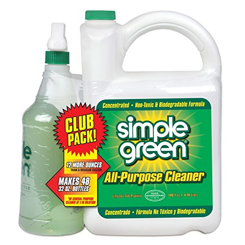 Simple Green Simple Green All Purpose Cleaner 140 Ounce Concentrate + 32 Ounce Ready to Use Net Wt 172 Ounce, 172 Ounce
