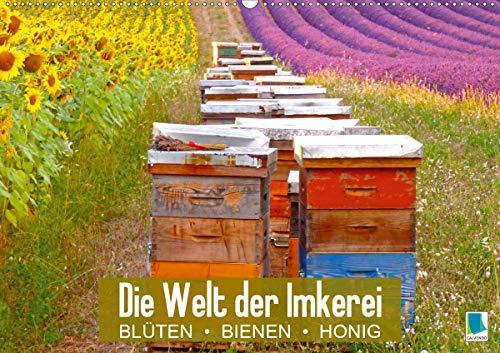 test Bienenzuchtwelt: Blumen, Bienen, Bienen (Landschaftswandkalender 2021 DIN A2) Deutschland