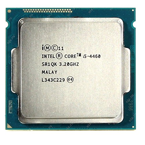 Intel - Procesador CPU Core I5-4460 3,20 GHz, 6 MB 5GT/s, FCLGA1150 Quad Core SR1QK