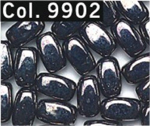 Riz perles 6 mm tubes 85 pièces couleur 9902 Gris