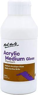 Mont Marte Acrylic Medium Gloss 4.56oz (135ml) - 2PACK