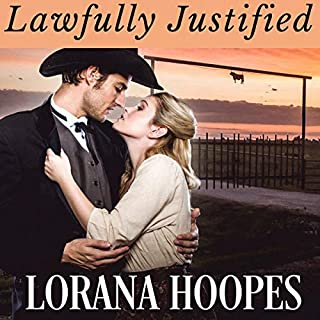 Lawfully Justified: Christian Romance Historical audiobook cover art