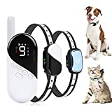 Dog Training Collar - Rechargeable Dog Shock Collar w/3 Modes, Beep, Vibration and Shock, Waterproof...