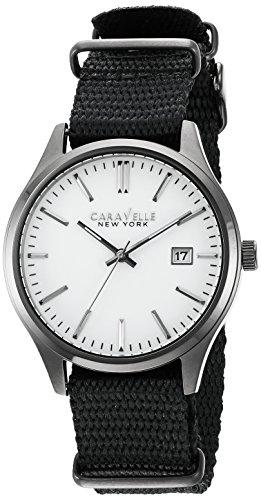Caravelle New York 45B142 - Reloj de Cuarzo para Hombre (Acero Inoxidable)