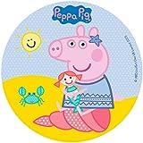 Dekora 231328 - Decoración para tartas (16 cm), diseño de Peppa Pig