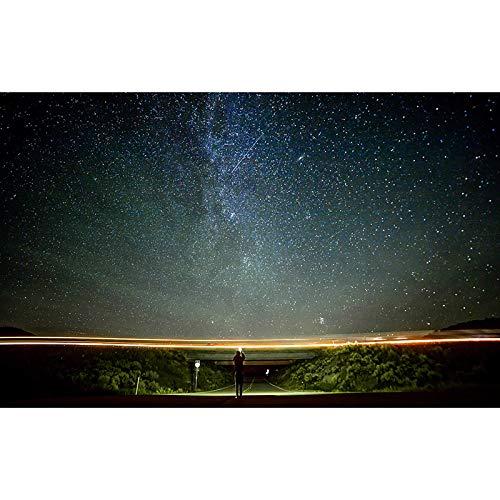 Puzzle Jigsaw Night Starry Sky Series De Madera 500-6000 Piezas High Dciesty Versión Avanzada Adulto Ocio Descompresión Familia Intelectual Juguete Intelectual