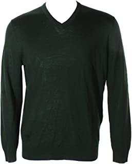 Mens Wool Casual V-Neck Sweater