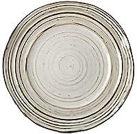 陶土のランチ昼食のピックの和風のフラットレトロなダイニングプレートプレート和風料理和風料理サービス(サイズ:小)