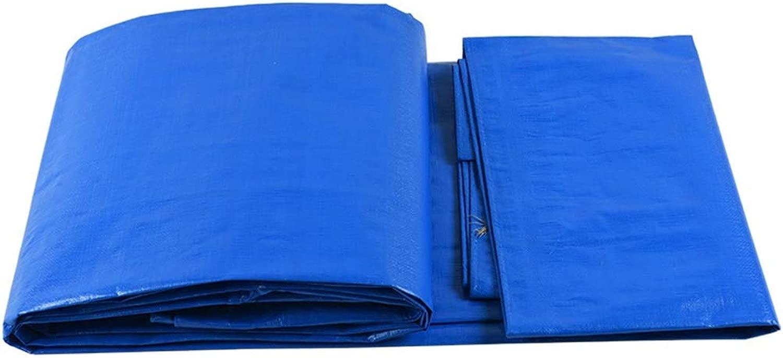 防水シートリノリウム ヘビーデューティ厚手素材、防水、防水シートキャノピーテント、ボート、RVまたはプールカバーブルーに最適 ZHANGQIANG (Color : A, Size : 8*10m)