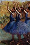 ''Three Dancers in Purple Skirts'' by Edgar Degas: Journal (Blank / Lined) (Art of Life Journals)