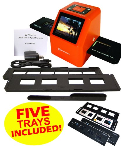 Buy Discount Wolverine F2D20 20 MP 35mm SLIDES and NEGATIVES to Digital Image Converter (Includes 5 ...
