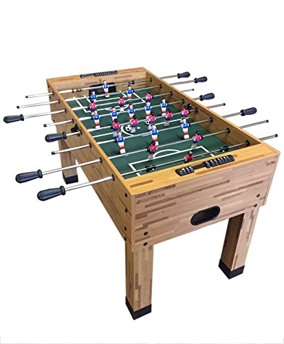 GRAFICA MA.RO SRL Soccer Football Model Maracana Table Wooden Family Game Fusball Play Table SOLID AND STRONG 680mm x 1170 mm