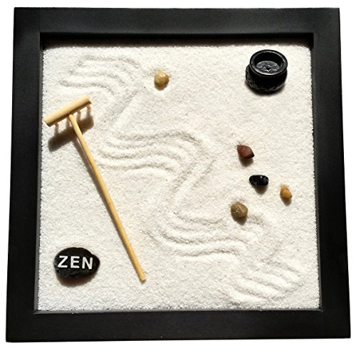 Agorà Import Giardino Zen 25 x 25 x 2 cm