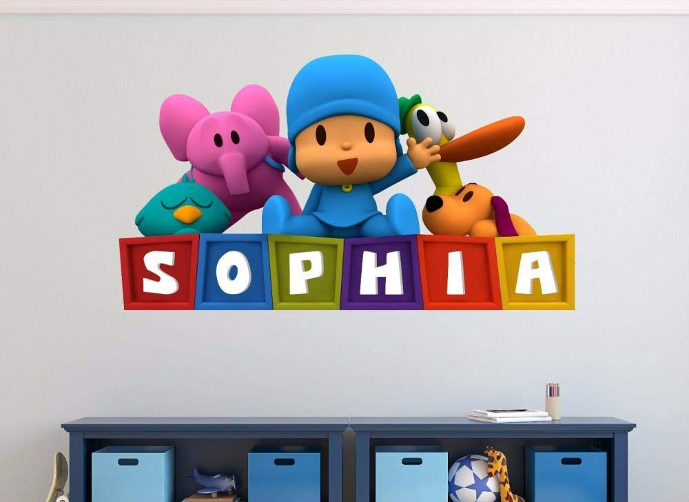 FHMYCSQ Popular brand 3D Wallpaper Challenge the lowest price Sticker Custom Wall Name Kids Decorat Decal