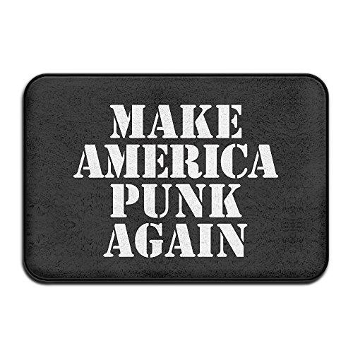 Outdoor machen Amerika Punk wieder Bodenmatten Innen Rutschfest Fußmatte (23.615.7) Zoll One Size weiß