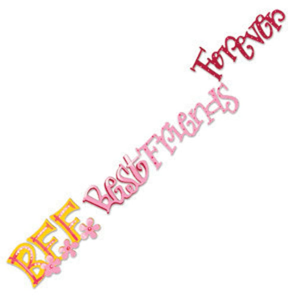 Sizzix(R) Sizzlits Decorative Strip Die - Best Friends Forever