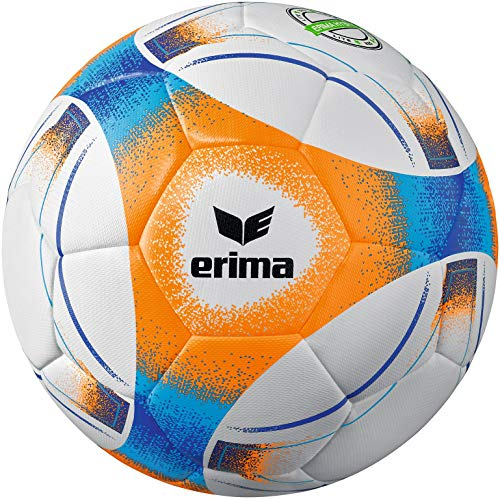 Erima Unisex– Erwachsene Hybrid Lite 290 Fußball, neon orange/blau, 5