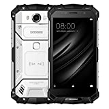 DOOGEE S60 Triple Proofing Phone 6GB+64GB 5.2 inch IP68 Waterproof 5580mAh Battery Android 7.0 MTK Helio P25 Octa Core up to 2.5GHz WCDMA & GSM & FDD-LTE (Silver)