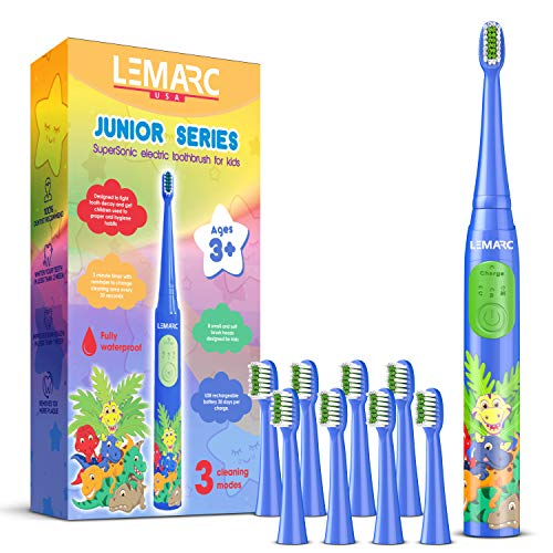 LEMARC USA Supersonic Kids Electric Toothbrush 8...