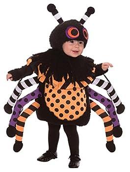 This Guy Costumes Baby s Spider Black/Orange/Purple 3T-4T