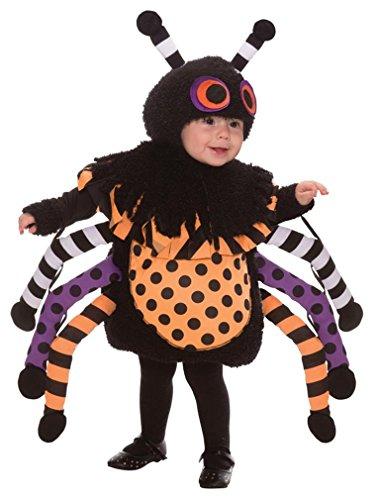 This Guy Costumes Baby's Spider, Black/Orange/Purple, 18-24 Months