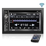 Upgraded Pyle Double Din Touchscreen | DVD CD Player | Bluetooth Handsfree...