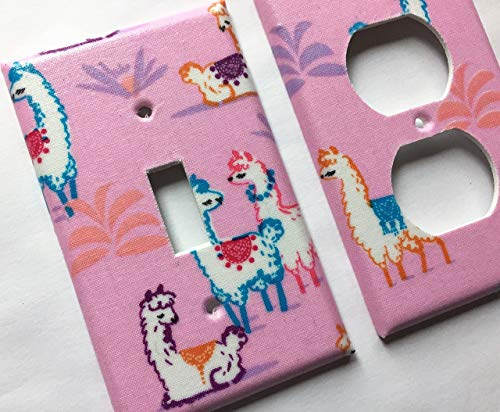 Llama Light Switch Cover Various Sizes Offered