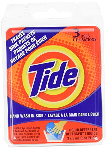 Tide Travel Sink Packets (4)