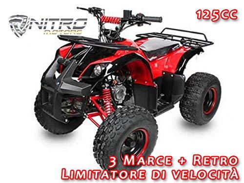 Motorbimbo Nitro Motors Midi Quad Toronto Rg8 Light Nero
