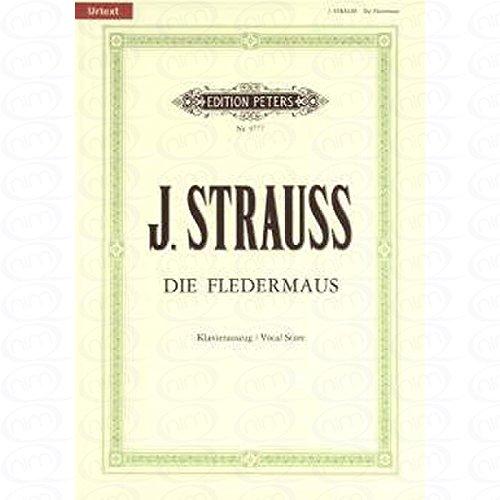 FLEDERMAUS - arrangiert für Klavierauszug [Noten/Sheetmusic] Komponist : STRAUSS (SOHN) JOHANN