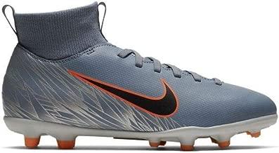 Nike Junior Superfly 6 Club FG/MG Soccer Cleats (Armory Blue/Black-Wolf Grey)