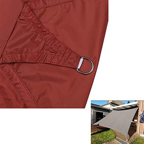 Toldo Vela De Sombra Rectangular Protección Rayos UV Resistente Y Transpirable Para Patio Exteriores Jardín Color Arena 3X5m,2