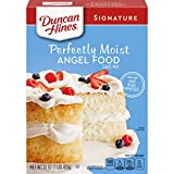 Duncan Hines Signature Perfectly Moist Angel Food Cake Mix, 16 OZ