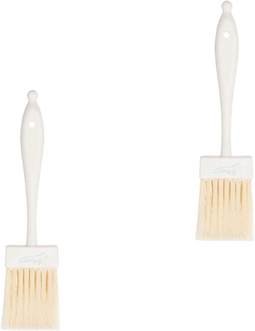 Ateco 1672 Mail order cheap Popular Fused Flat Pastry Brush 2' PC Handle Plastic with 2