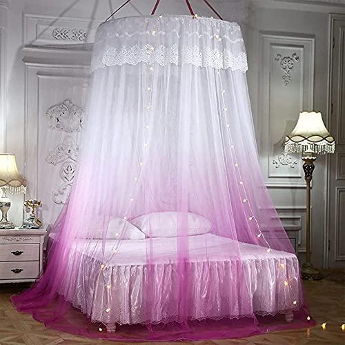 SANNA Mosquitera para viajes y hogar, mosquitero, cama de princesa, mosquitera, para niñas, adolescentes o para cuna en el cuarto de bebé