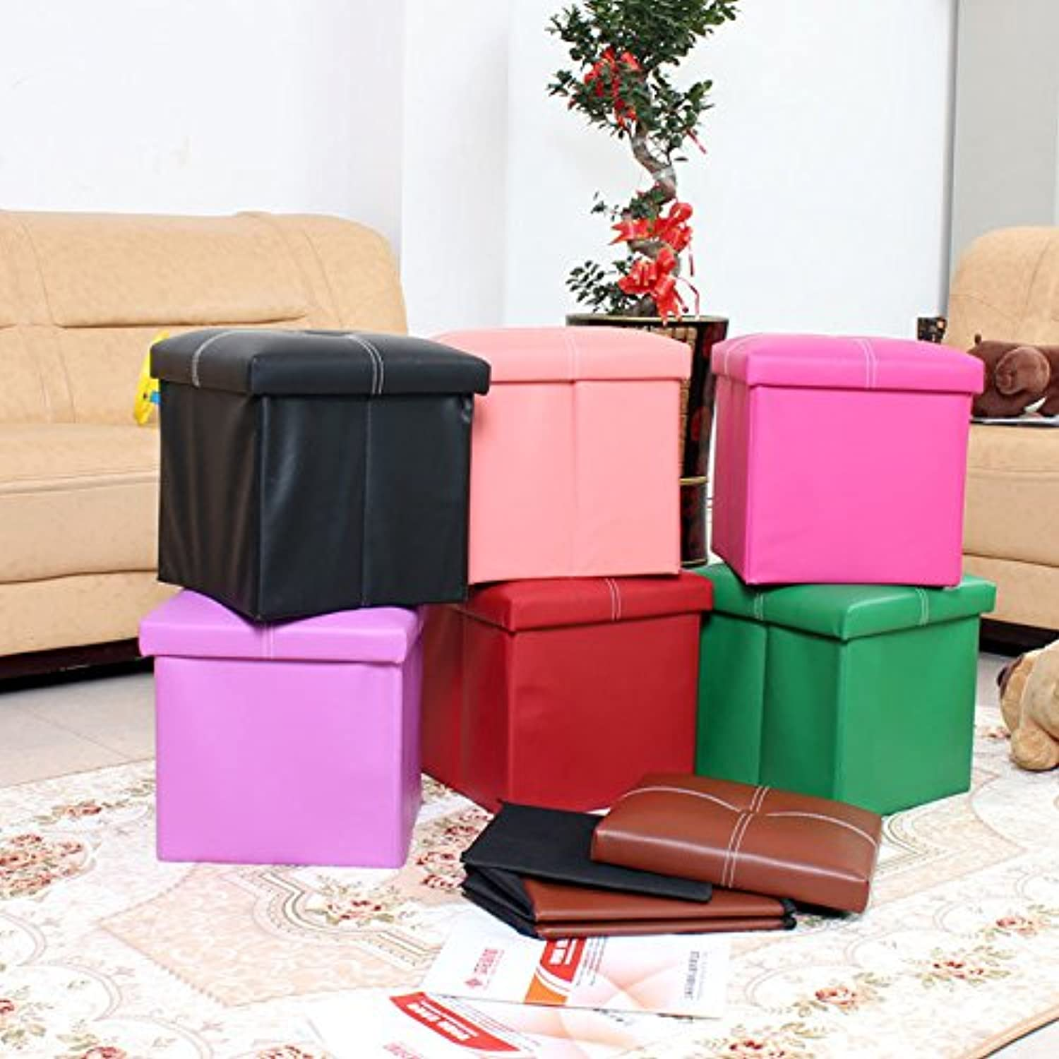 Bazaar Multifunctional Folding Storage Chair Box shoes Toys Storage Chair Home Furniture