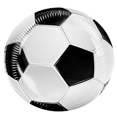 Boland 62506 Teller Fußball, Mehrfarbig