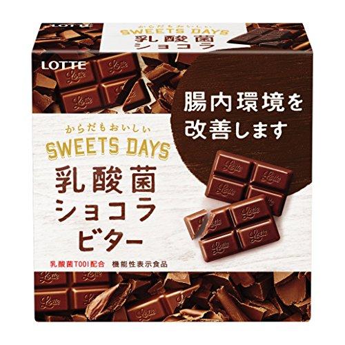 ロッテ 乳酸菌ショコラ ビター 56g×6個