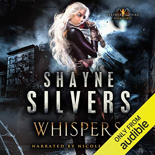 Whispers audiobook cover art