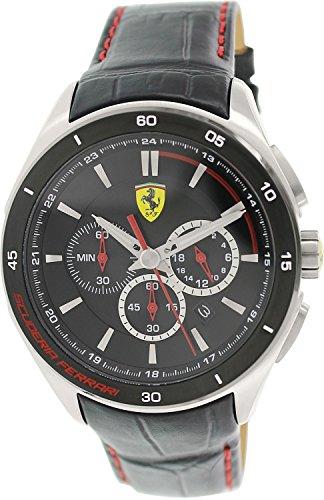Scuderia Ferrari 0830182 - Reloj cronógrafo para hombre, co