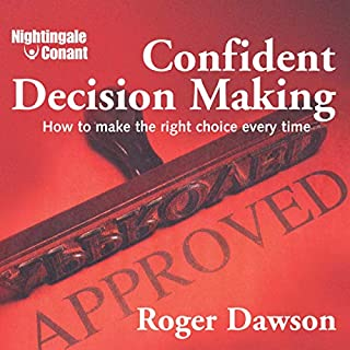 Confident Decision Making audiobook cover art